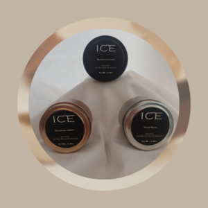 ICE Set of 3 Sampler Candle Alasha Bennett