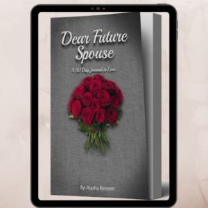 Dear Future Spouse E book Alasha Bennett